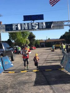Fun Run 5K adult and kid runner
